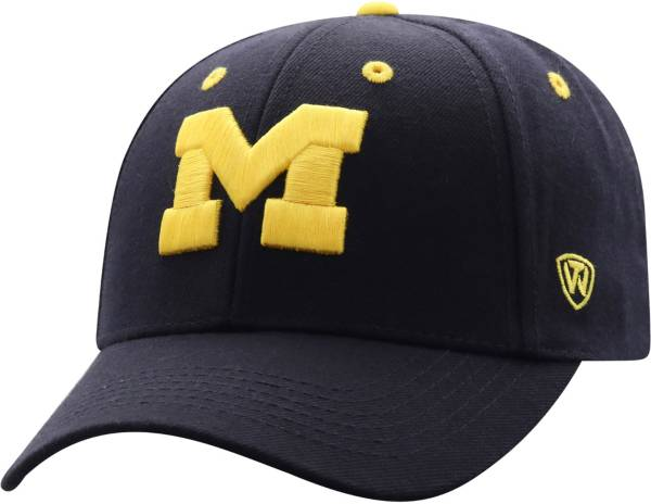 Top of the World Men's Michigan Wolverines Blue Triple Threat Adjustable Hat product image