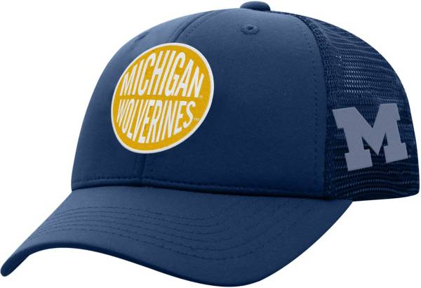 Top of the World Youth Michigan Wolverines Blue Ace Adjustable Hat product image