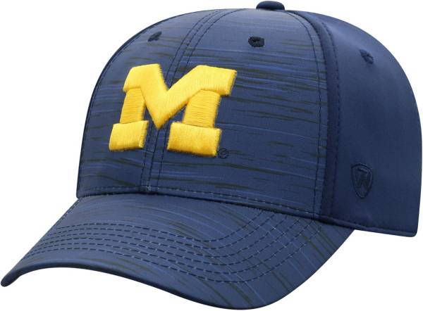 Top of the World Men's Michigan Wolverines Blue Intrude 1Fit Flex Hat product image