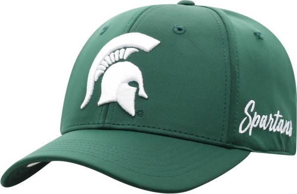 Top of the World Men's Michigan State Spartans Green Phenom 1Fit Flex Hat product image