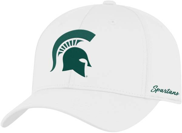 Top of the World Men's Michigan State Spartans Phenom 1Fit Flex White Hat product image