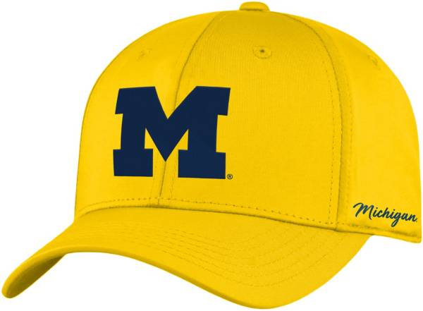Top of the World Men's Michigan Wolverines Maize Phenom 1Fit Flex Hat product image