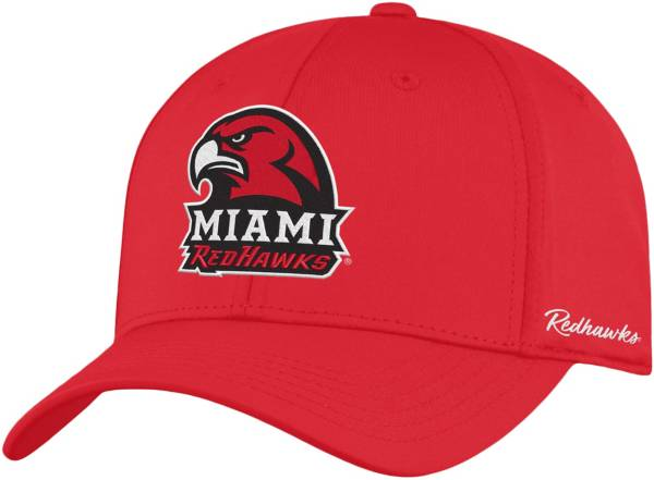 Top of the World Men's Miami RedHawks Red Phenom 1Fit Flex Hat product image