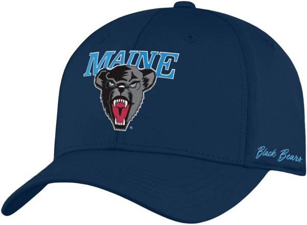 Top of the World Men's Maine Black Bears Navy Phenom 1Fit Flex Hat product image