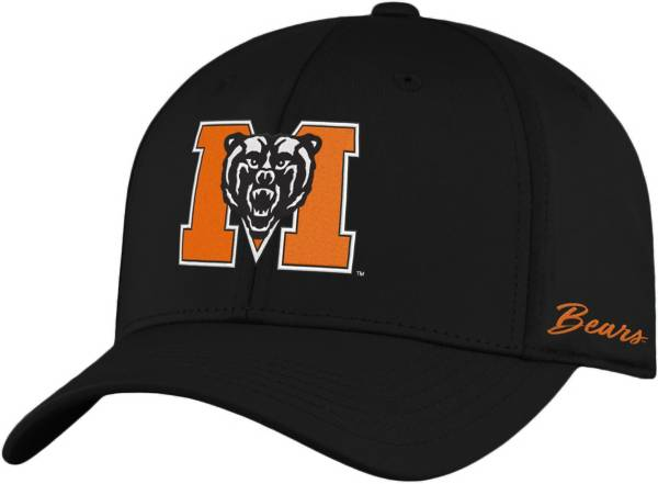 Top of the World Men's Mercer Bears Phenom 1Fit Flex Black Hat product image