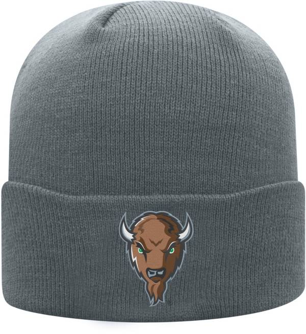 Top of the World Men's Marshall Thundering Herd Grey Cuff Knit Beanie product image