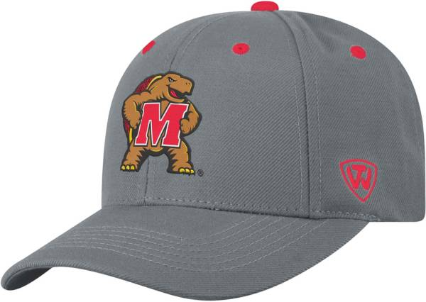 Top of the World Men's Maryland Terrapins Grey Triple Threat Adjustable Hat product image