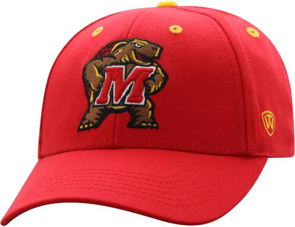 Top of the World Men's Maryland Terrapins Red Triple Threat Adjustable Hat product image