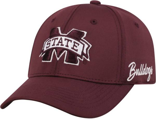 Top of the World Men's Mississippi State Bulldogs Maroon Phenom 1Fit Flex Hat product image