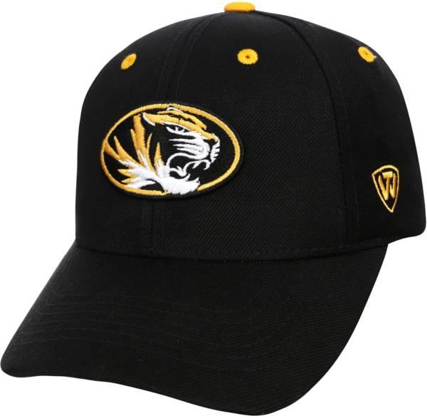 Top of the World Men's Missouri Tigers Triple Threat Adjustable Black Hat product image