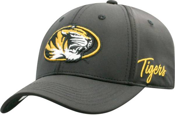 Top of the World Men's Missouri Tigers Phenom 1Fit Flex Black Hat product image