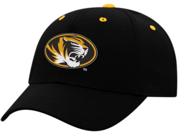 Top of the World Youth Missouri Tigers Rookie Black Hat product image