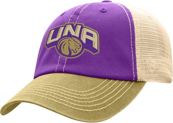 Top of the World Men's North Alabama  Lions Purple/White Off Road Adjustable Hat product image