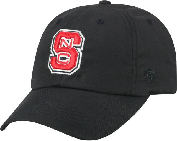 Top of the World Men's NC State Wolfpack Staple Adjustable Black Hat product image