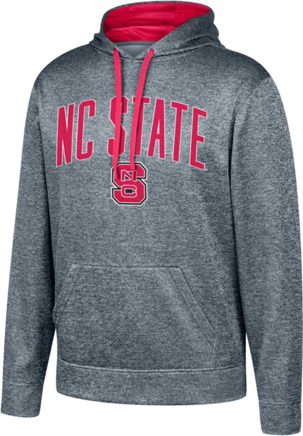 Top of the World Men's NC State Wolfpack Grey Foundation Poly Hoodie product image