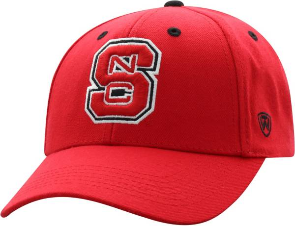 Top of the World Men's NC State Wolfpack Red Triple Threat Adjustable Hat product image