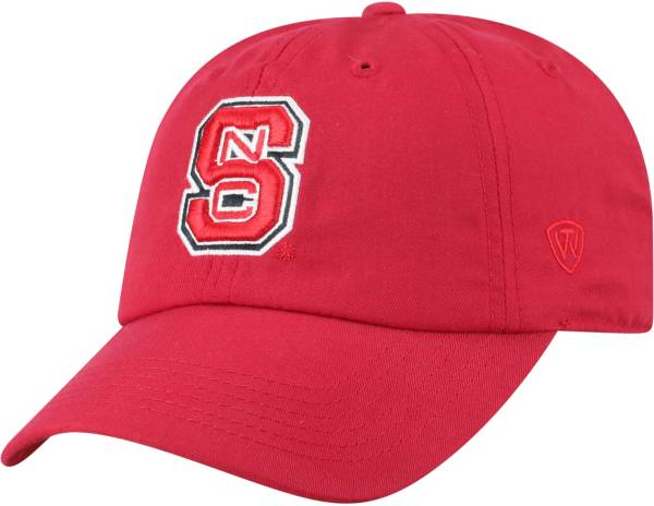 Top of the World Men's NC State Wolfpack Red Staple Adjustable Hat product image