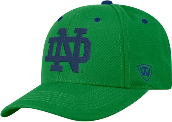 Top of the World Men's Notre Dame Fighting Irish Green Triple Threat Adjustable Hat product image
