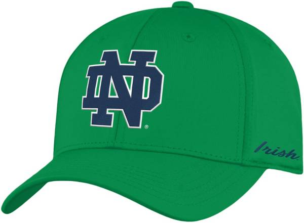 Top of the World Men's Notre Dame Fighting Irish Green Phenom 1Fit Flex Hat product image