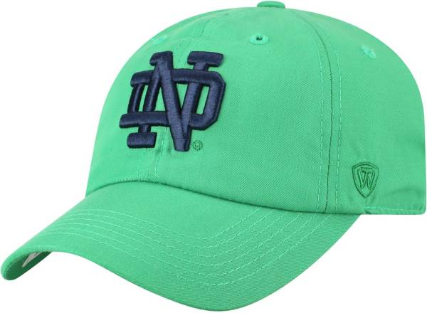 Top of the World Men's Notre Dame Fighting Irish Green Staple Adjustable Hat product image