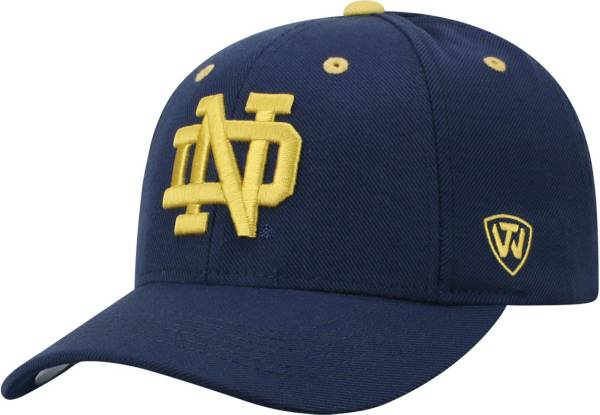 Top of the World Men's Notre Dame Fighting Irish Navy Triple Threat Adjustable Hat product image