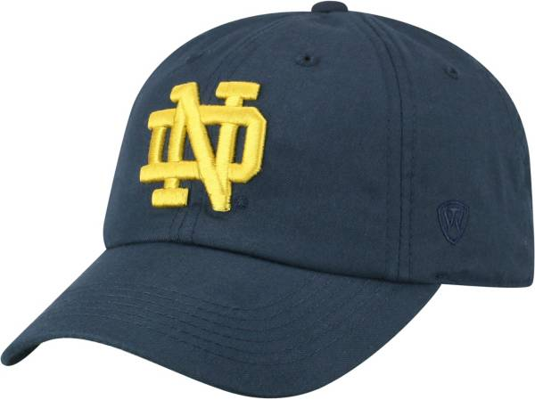 Top of the World Men's Notre Dame Fighting Irish Navy Staple Adjustable Hat product image