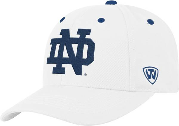 Top of the World Men's Notre Dame Fighting Irish Triple Threat Adjustable White Hat product image