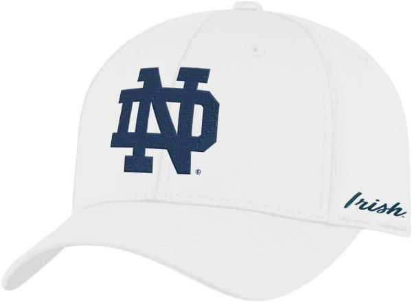 Top of the World Men's Notre Dame Fighting Irish Phenom 1Fit Flex White Hat product image