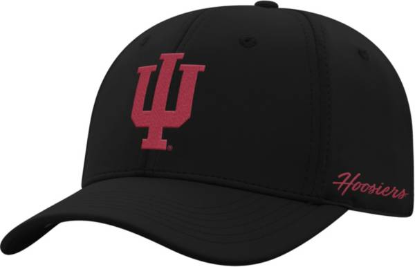 Top of the World Men's Indiana Hoosiers Phenom 1Fit Flex Black Hat product image