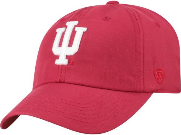 Top of the World Men's Indiana Hoosiers Crimson Staple Adjustable Hat product image