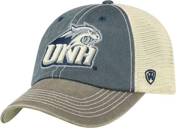 Top of the World Men's New Hampshire Wildcats Blue/White Off Road Adjustable Hat product image