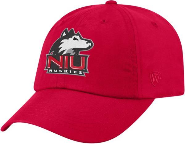Top of the World Men's Northern Illinois Huskies Cardinal Staple Adjustable Hat product image