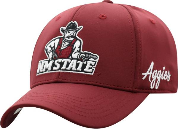 Top of the World Men's New Mexico State Aggies Crimson Phenom 1Fit Flex Hat product image