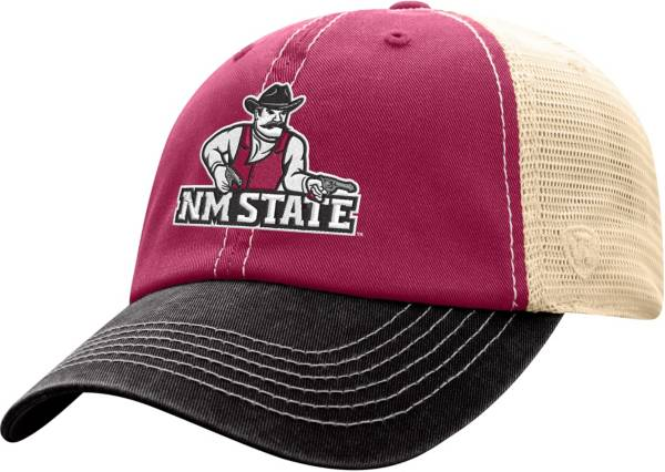 Top of the World Men's New Mexico State Aggies Crimson/White Off Road Adjustable Hat product image