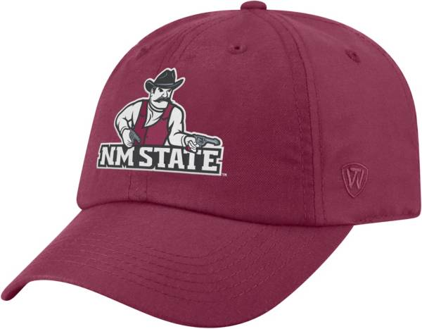 Top of the World Men's New Mexico State Aggies Crimson Staple Adjustable Hat product image