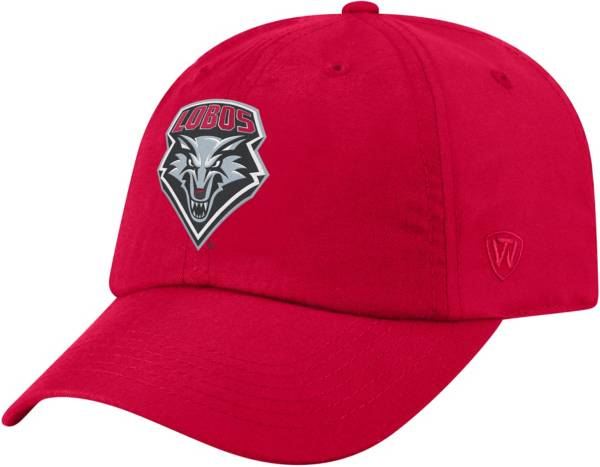 Top of the World Men's New Mexico Lobos Cherry Staple Adjustable Hat product image