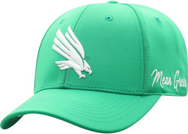 Top of the World Men's North Texas Mean Green Green Phenom 1Fit Flex Hat product image