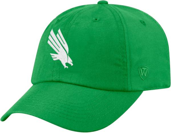 Top of the World Men's North Texas Mean Green Green Staple Adjustable Hat product image