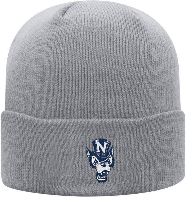 Top of the World Men's Nevada Wolf Pack Grey Cuff Knit Beanie product image