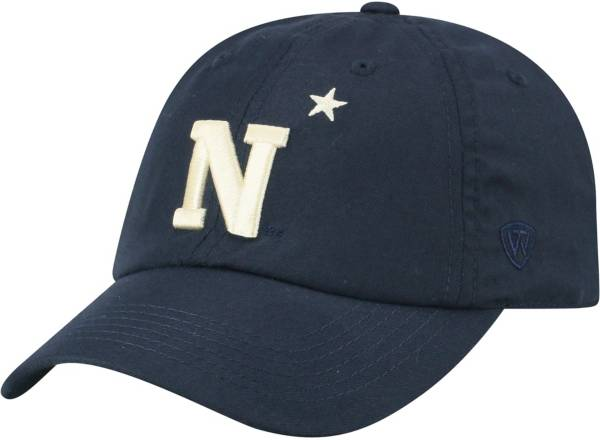 Top of the World Men's Navy Midshipmen Navy Staple Adjustable Hat product image