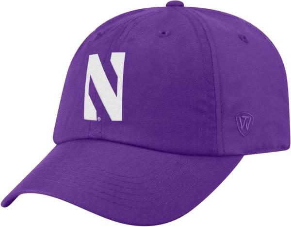 Top of the World Men's Northwestern Wildcats Purple Staple Adjustable Hat product image