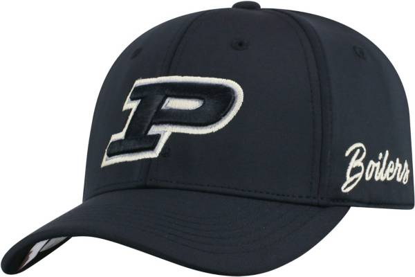 Top of the World Men's Purdue Boilermakers Phenom 1Fit Flex Black Hat product image
