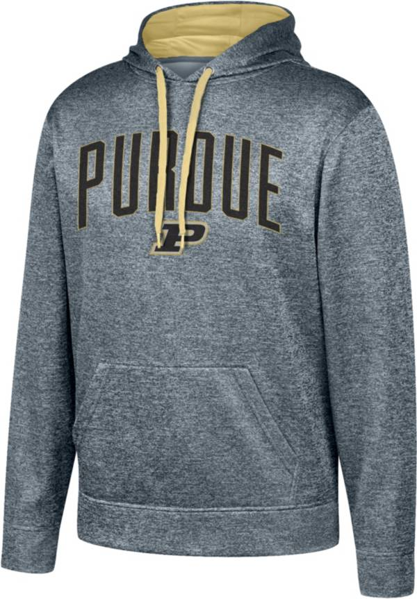 Top of the World Men's Purdue Boilermakers Grey Foundation Poly Hoodie product image
