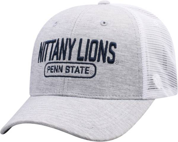 Top of the World Men's Penn State Nittany Lions Grey Notch Adjustable Snapback Hat product image