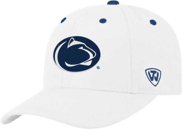 Top of the World Men's Penn State Nittany Lions Triple Threat Adjustable White Hat product image