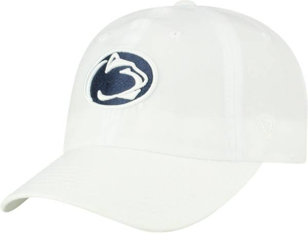 Top of the World Men's Penn State Nittany Lions Staple Adjustable White Hat product image