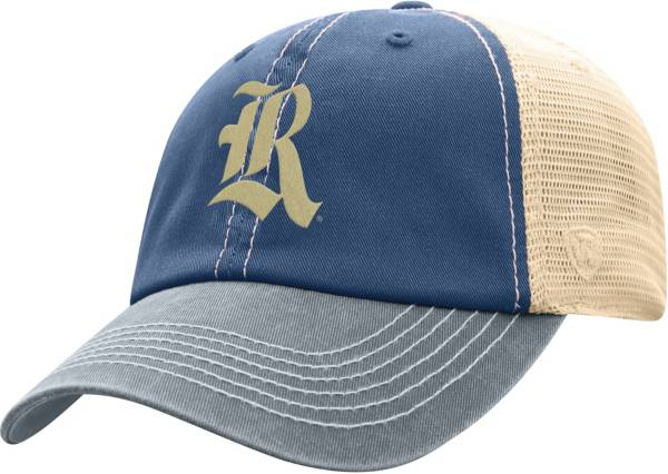 Top of the World Men's Rice Owls Blue/White Off Road Adjustable Hat product image