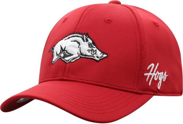 Top of the World Men's Arkansas Razorbacks Cardinal Phenom 1Fit Flex Hat product image