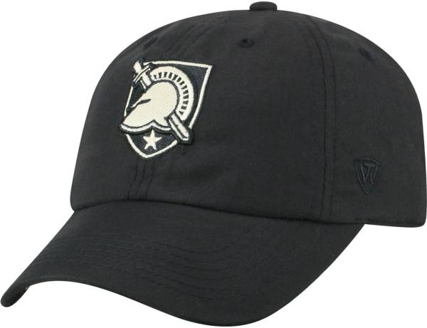 Top of the World Men's Army West Point Black Knights Staple Adjustable Black Hat product image