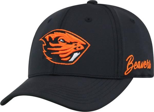 Top of the World Men's Oregon State Beavers Phenom 1Fit Flex Black Hat product image